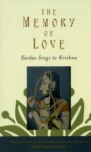 Ebook in inglese Memory of Love: Surdas Sings to Krishna Hawley, John Stratton
