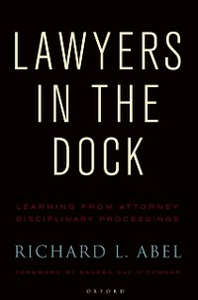 Ebook in inglese Lawyers in the Dock Abel, Richard L.