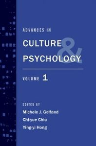 Ebook in inglese Advances in Culture and Psychology: Volume 1