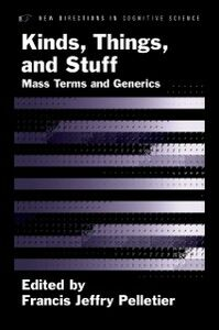 Ebook in inglese Kinds, Things, and Stuff: Mass Terms and Generics -, -