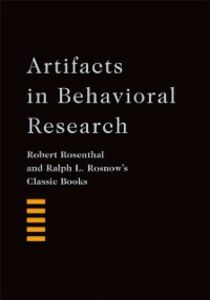 Ebook in inglese Artifacts in Behavioral Research: Robert Rosenthal and Ralph L. Rosnows Classic Books Alan E. Kazdin , Rosenthal, Robert , Rosnow, Ralph L. , With a Foreword by Alan E. Kazdin