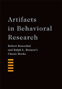 Ebook in inglese Artifacts in Behavioral Research: Robert Rosenthal and Ralph L. Rosnows Classic Books Rosenthal, Robert , Rosnow, Ralph L.