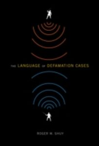 Ebook in inglese Language of Defamation Cases Shuy, Roger W.