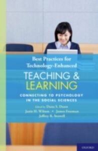 Foto Cover di Best Practices for Technology-Enhanced Teaching and Learning: Connecting to Psychology and the Social Sciences, Ebook inglese di AA.VV edito da Oxford University Press