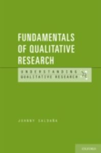 Foto Cover di Fundamentals of Qualitative Research, Ebook inglese di Johnny Saldana, edito da Oxford University Press