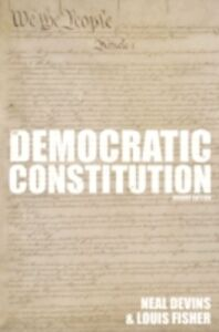 Ebook in inglese Democratic Constitution, 2nd Edition Devins, Neal , Fisher, Louis