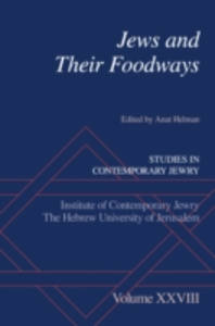 Ebook in inglese Jews and Their Foodways -, -