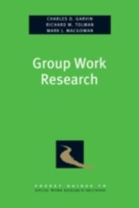 Ebook in inglese Group Work Research Garvin, Charles , Macgowan, Mark , Tolman, Richard