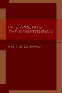 Ebook in inglese Interpreting the Constitution Greenawalt, Kent