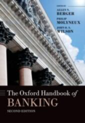 Oxford Handbook of Banking, Second Edition