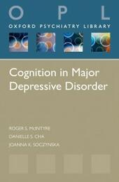 Cognition in Major Depressive Disorder