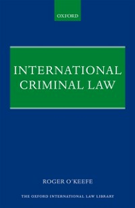 Ebook in inglese International Criminal Law OKeefe, Roger