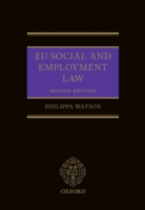 Ebook in inglese EU Social and Employment Law 2E Watson, Philippa