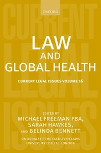 Ebook in inglese Law and Global Health: Current Legal Issues Volume 16 -, -