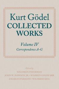 Foto Cover di Kurt Gödel: Collected Works: Volume IV, Ebook inglese di Kurt G&ouml,del, edito da OUP Oxford