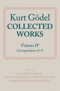 Ebook in inglese Kurt Gödel: Collected Works: Volume IV G&ouml , del, Kurt