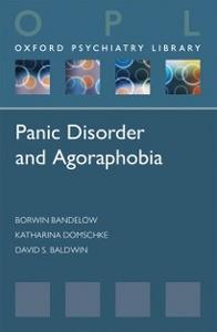 Ebook in inglese Panic Disorder and Agoraphobia Baldwin, David , Bandelow, Borwin , Domschke, Katharina