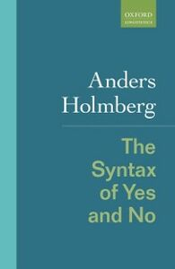 Ebook in inglese Syntax of Yes and No Holmberg, Anders