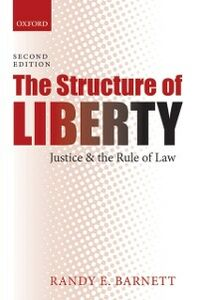 Foto Cover di Structure of Liberty: Justice and the Rule of Law, Ebook inglese di Randy E. Barnett, edito da OUP Oxford
