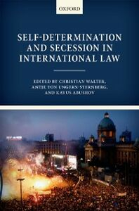 Ebook in inglese Self-Determination and Secession in International Law
