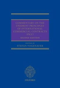 Ebook in inglese Commentary on the UNIDROIT Principles of International Commercial Contracts (PICC)