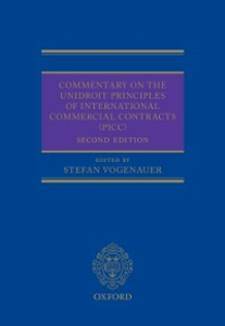 Ebook in inglese Commentary on the UNIDROIT Principles of International Commercial Contracts (PICC) -, -