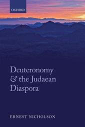 Deuteronomy and the Judaean Diaspora