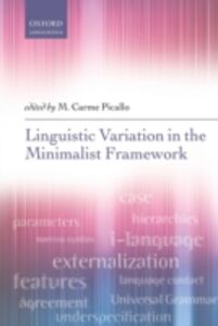 Ebook in inglese Linguistic Variation in the Minimalist Framework -, -