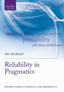 Ebook in inglese Reliability in Pragmatics McCready, Eric