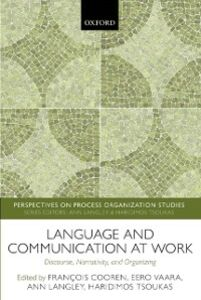 Ebook in inglese Language and Communication at Work: Discourse, Narrativity, and Organizing -, -