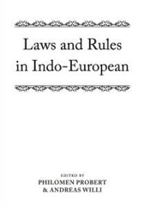 Ebook in inglese Laws and Rules in Indo-European -, -