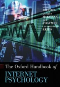 Ebook in inglese Oxford Handbook of Internet Psychology -, -
