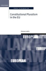 Ebook in inglese Constitutional Pluralism in the EU Jaklic, Klemen