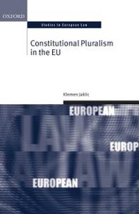 Ebook in inglese Constitutional Pluralism in the EU Jaklic, Klemen