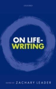 Ebook in inglese On Life-Writing -, -