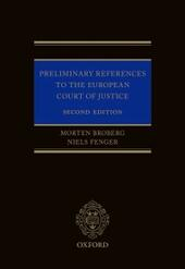 Preliminary References to the European Court of Justice