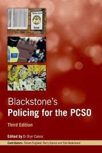 Ebook in inglese Blackstone's Policing for the PCSO