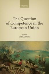 Question of Competence in the European Union