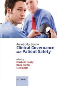 Ebook in inglese Introduction to Clinical Governance and Patient Safety -, -