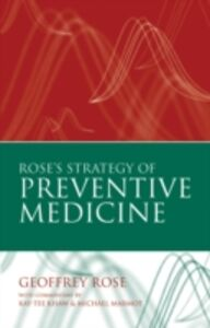 Foto Cover di Rose's Strategy of Preventive Medicine, Ebook inglese di Geoffrey Rose, edito da OUP Oxford