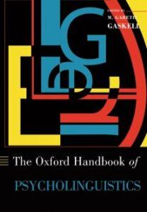 Ebook in inglese Oxford Handbook of Psycholinguistics -, -