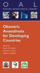 Ebook in inglese Obstetric Anaesthesia for Developing Countries