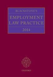 Blackstone's Employment Law Practice 2014