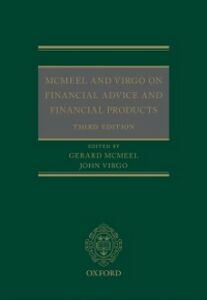 Foto Cover di McMeel and Virgo On Financial Advice and Financial Products, Ebook inglese di  edito da OUP Oxford
