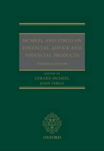 Ebook in inglese McMeel and Virgo On Financial Advice and Financial Products -, -