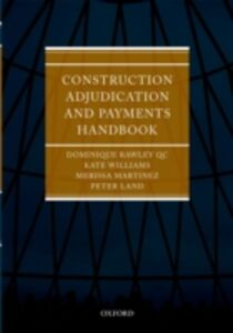 Foto Cover di Construction Adjudication and Payments Handbook, Ebook inglese di AA.VV edito da OUP Oxford