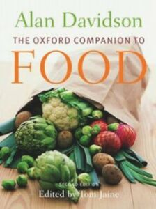 Ebook in inglese Oxford Companion to Food Davidson, Alan