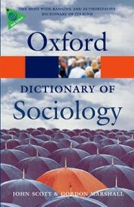 Ebook in inglese Dictionary of Sociology Marshall, Gordon , Scott, John