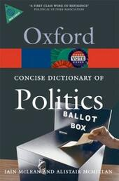 Concise Oxford Dictionary of Politics