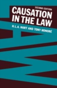 Ebook in inglese Causation in the Law Hart, H. L. A. , Honor&eacute , , Tony